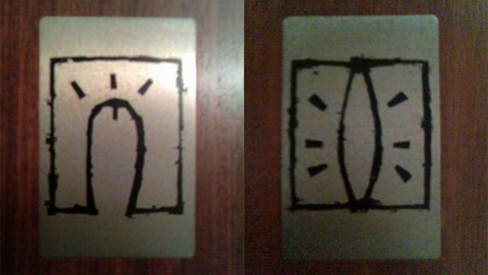 Creative And Funny Toilet Signs From Around The World